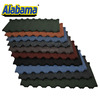 Easy to be transported and installed roof waterproofing sheet, fire resistance zinc stone coated steel roof tile