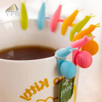 food grade Snail shape silicone tea infuser