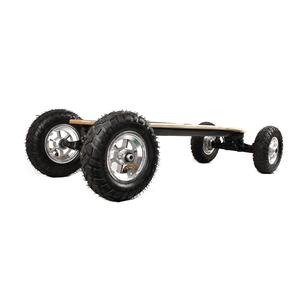 SYL-09 off road mountain electric skateboard 40km electric longboard dual motor
