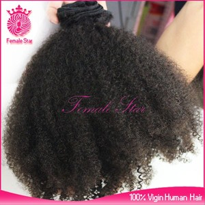 wholesale brazilian hair weave bundles 100% virgin remy human hair 7a grade afro curly hair weave for african americans