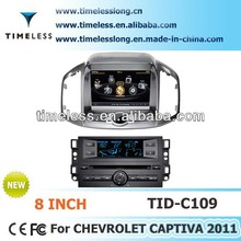 Car Audio Captiva 2012 with Phonebook iPod 3G WIFI 20VCDC A8 Chipset CPU 1GMHZ ROM 512MB 4G Memory S100