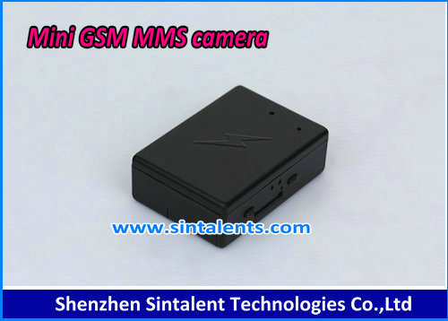 GSM MMS Alarm mini dv camera with GPRS Orientation function gsm camera