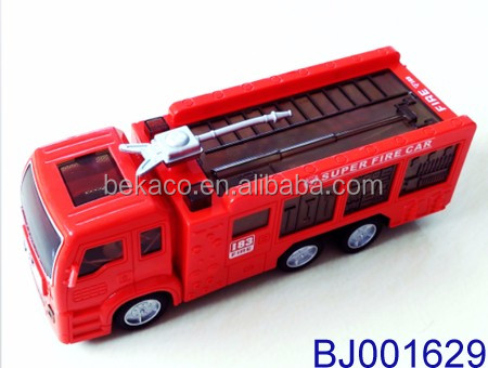 Bump and Go electric Fire Truck Toy with Stunning 3D Lights and Sirens