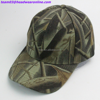 Custom Military Style Cotton Army Cap Military Camouflage Baseball Hat  Woodland Camo Cap 4224de5942a
