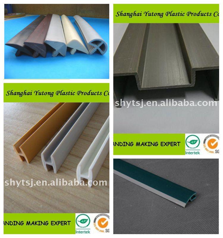 plastic t shaped pvc t shelf edge banding trim,t molding edge trim,t  edging, View T Shaped edging trim t molding edge trim shanghai factory,  Yutong