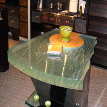China Homemade Tempered Glass Countertops Glass Coffee Table