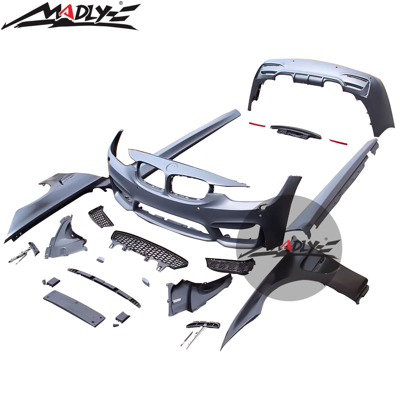 Follemente PP Materiale F30 Body Kit Stile M3 kit corpo per BMW F30