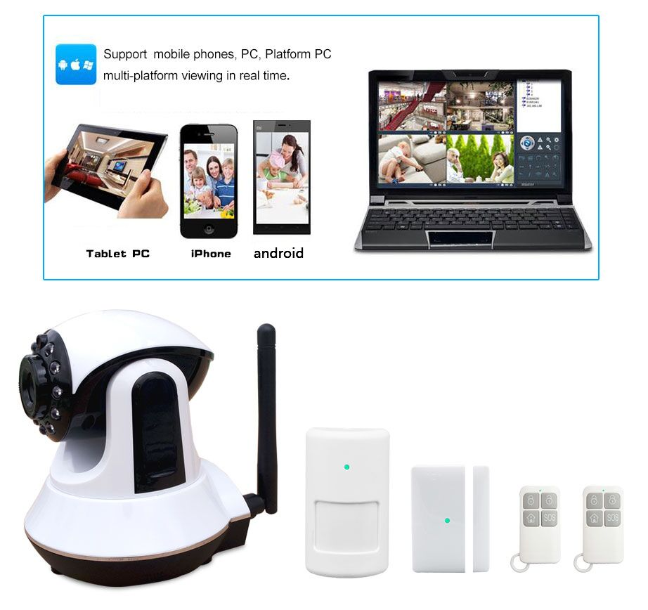 Wireless 3g Gsm Video Camera Security Alarm Wholesale, Video ...