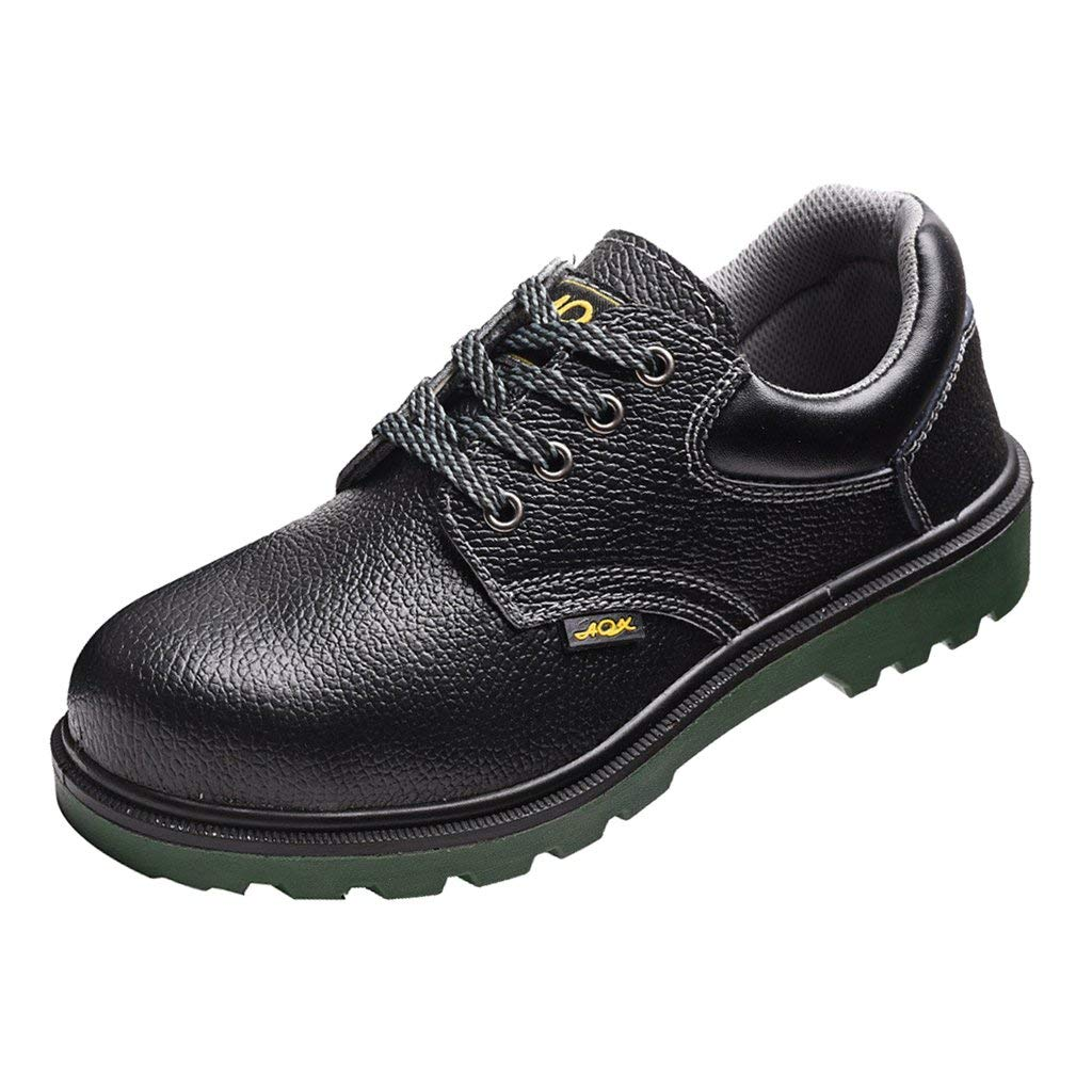 8a3e8d75cee8 Get Quotations · Dolity Mens Safety Shoes Steel Toe Work Boots Hiking Shoes