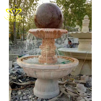 Stone Garden Products Spinning Floating Ball Water Fountain