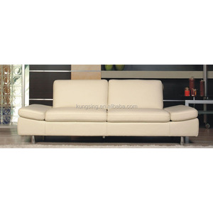 sunroom foam genuine leather sleeper sofa