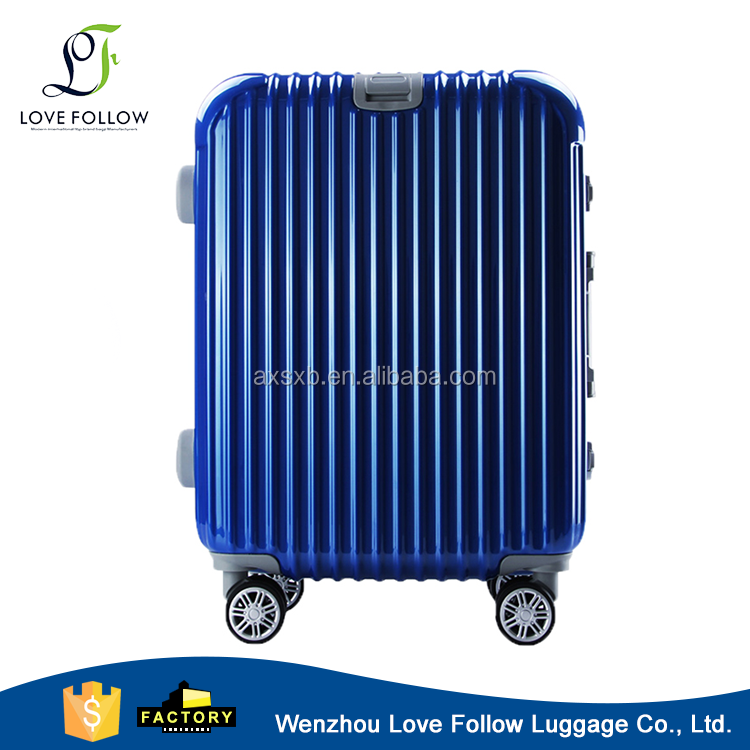 Factory price abs pc lugagge suitcase trolley luggage