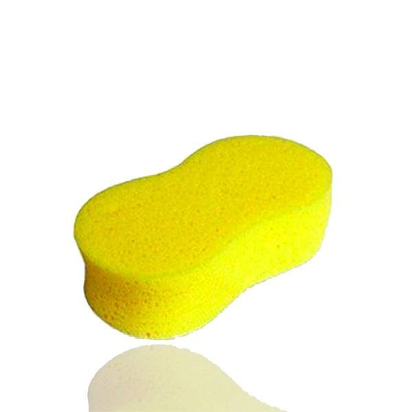 Natural water absorbent hydrophilic organic bath sponge with soap