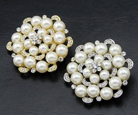 High quality china wholesale handmade pearl bulk korean brooch