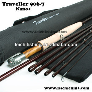 travel-ready im12 carbon fly fishing rod