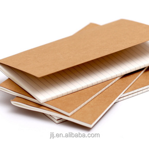 High quality handmade recycle brown kraft paper notebook