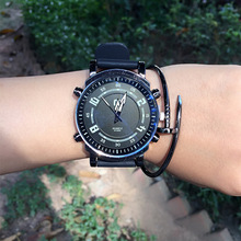 Genuine fashion silicone arrow Ladies Watch simple all-match male student couples quartz watch