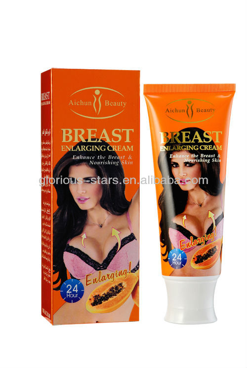 F14 Aichun beauty breast lifting fast cream Arabic and English Papaya Coconut Garlic 120g
