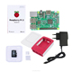 R02 Raspberry pi 3 B kit rasberry pi 3 b with 5V 2.5A adapter charger case