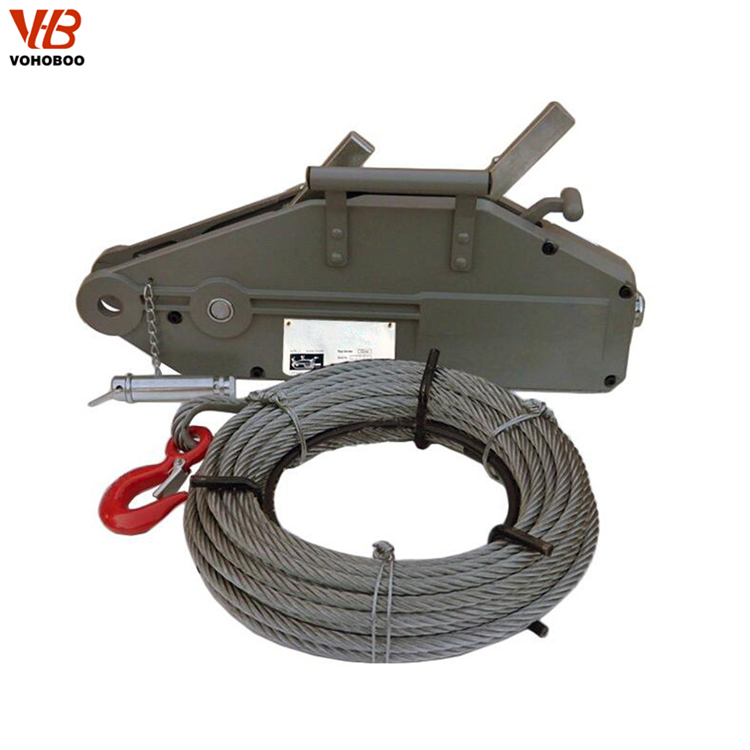 Manual Hoist Pulley System Tirfor Pulling Winch With Best Price Vohoboo  Brand - Buy Manual Hoist Pulley System,Manual Wire Rope Winch,Manual Wire  Rope