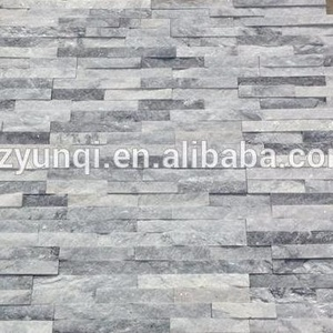 Grey Slate Natural Stone Exterior Wall decorative Cladding Stone
