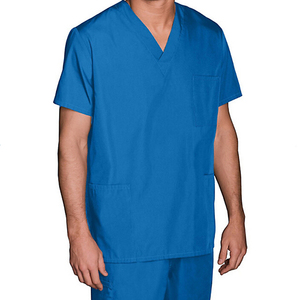 Designs Male Blue Hospital doctor surgical scrubs