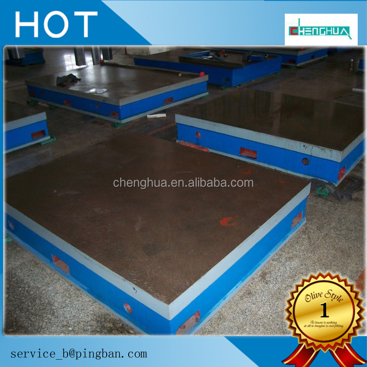 Machinery inspection lapping three coordinate cast iron table