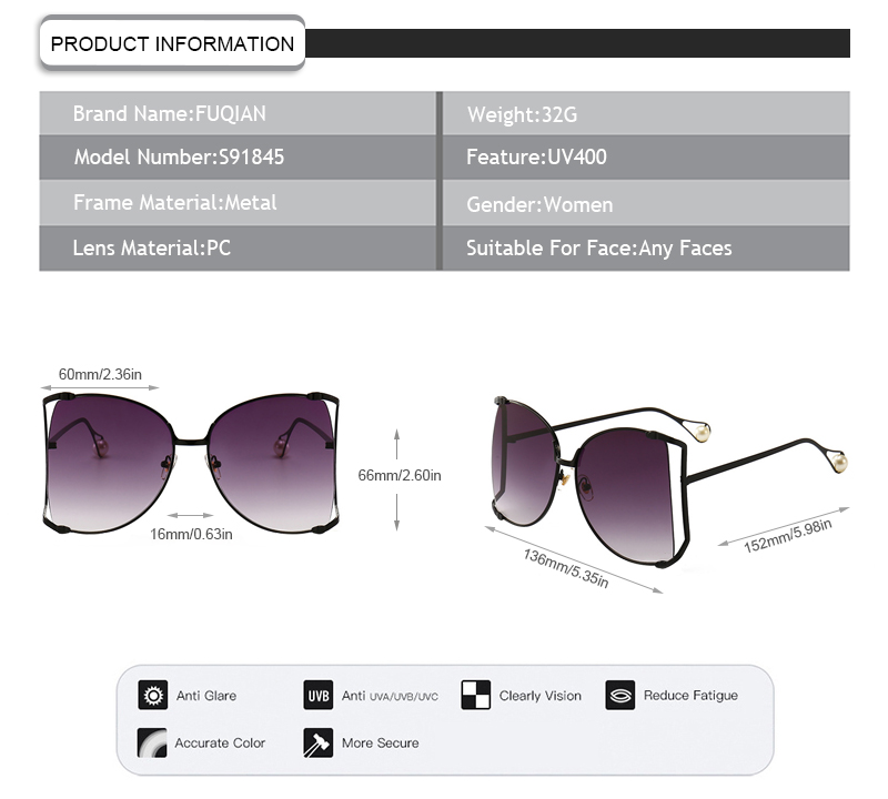 Fuqian New blinde sunglasses Suppliers for sport-7