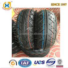 Non slip High Performance Black Rubber Tire with 120kg load capacity