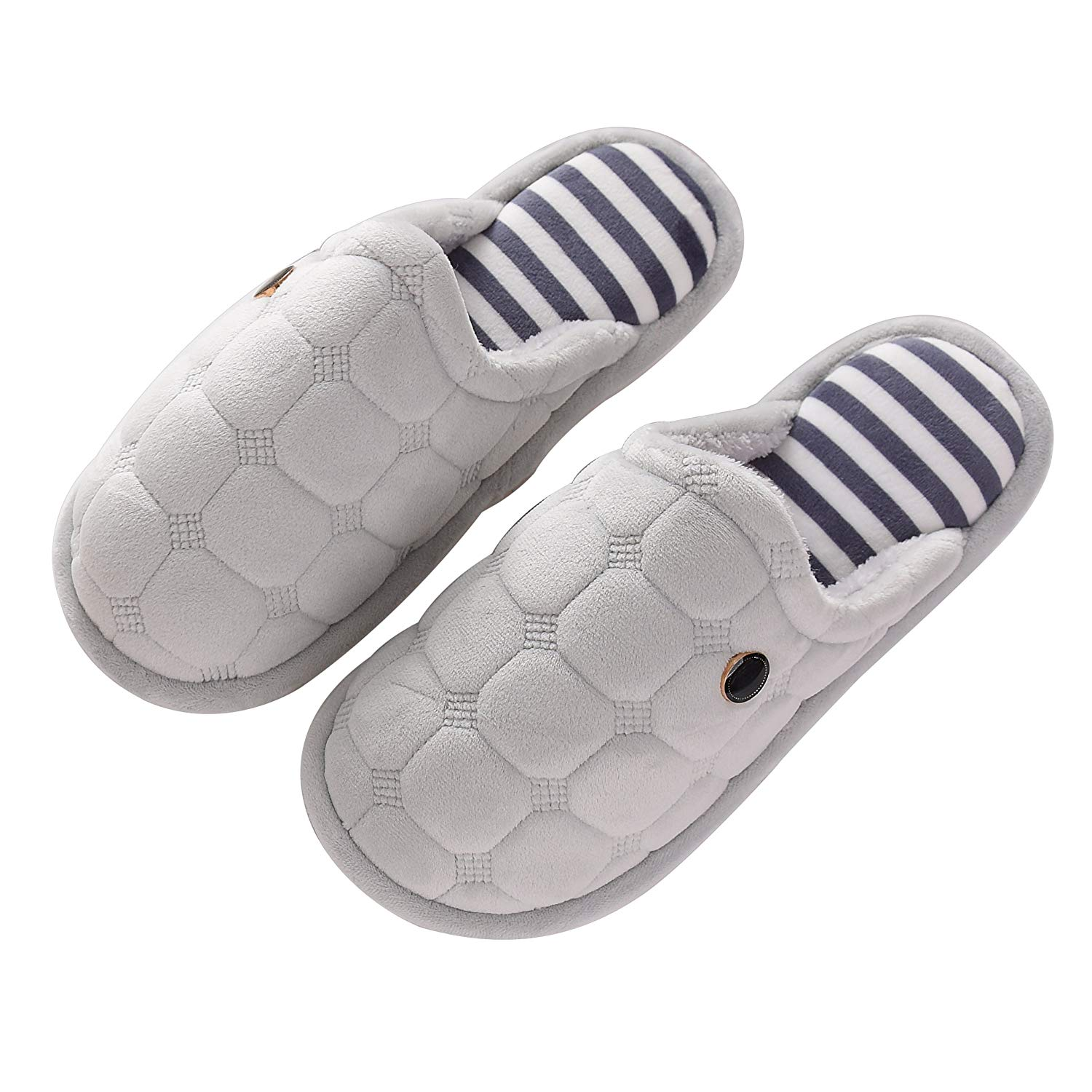 OxygenBeauty Indoor Slippers, Cotton Slippers, Winter Warm Slipper, House Slippers, Comfortable Anti-Slip Floor House Slippers For Women and Men, Winter Couples House Floor Slippers