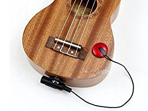 Piezo Pickup Contact Microphone Pickup For Guitar Ukulele Violin(Most Musical Instrument)