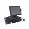 15 inch Windows 7 pos hardware all in one touch screen