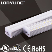 UL rating DLC qualified 60w 8ft led tube light integrated double t5