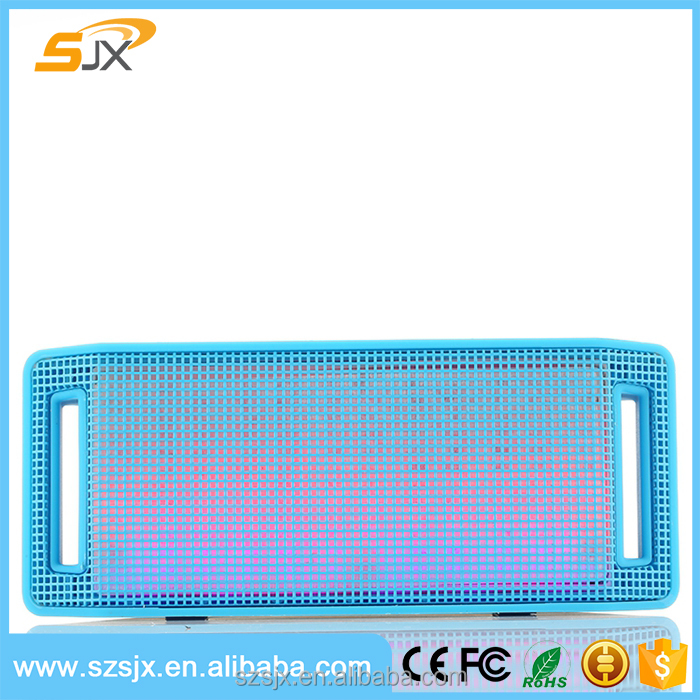 Outdoor Cool Wireless Bluetooth Speaker LED Light Speaker with Support TF Card ,hands-free