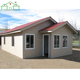 New design light steel prefab wooden villa