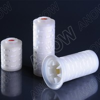 0.2um PTFE Filter Cartridge For Air Filtration replace Pall PFR Junior Filter