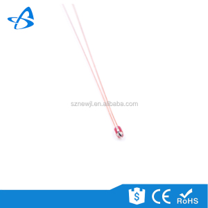 Small Size Safety Equipments Temperature Sensor Glass Bead Radial NTC Thermistor Sensor