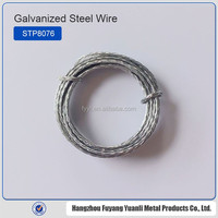 Galvanized flat stitching coil wire stainless steel cable wire