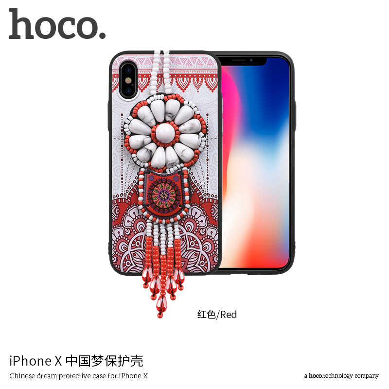 free shipping aa254 c70b3 HOCO China Dream Series Case Embroidery Phone Case Manufacturing Mobile  Phone Cover for Iphone X, View phone case manufacturing, Hoco Product  Details ...