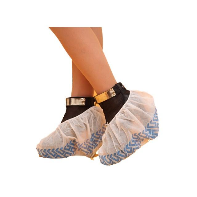 Disposable Anti Slip Plastic CPE PE Waterproof Shoe Cover