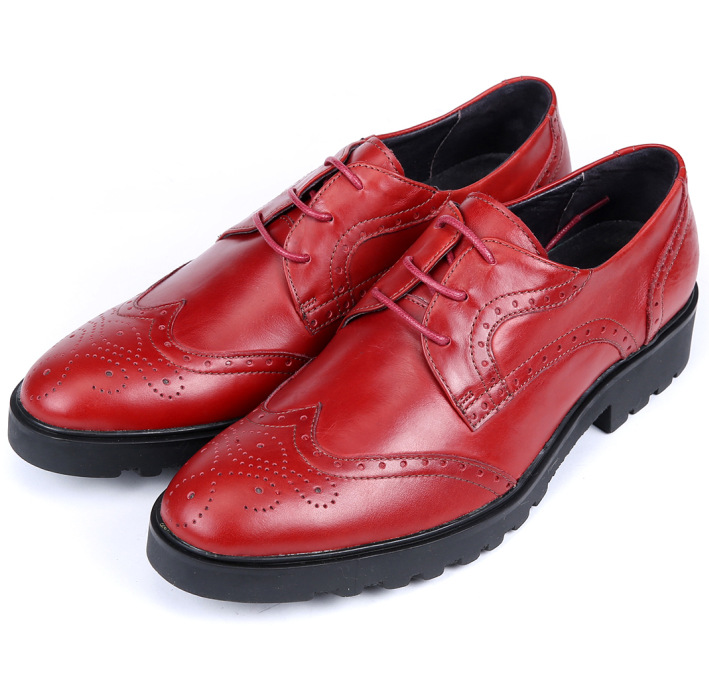 653437a775461 Get Quotations · Fashion Black   Dark blue   Red mens dress shoes genuine  leather oxfords mens wedding shoes