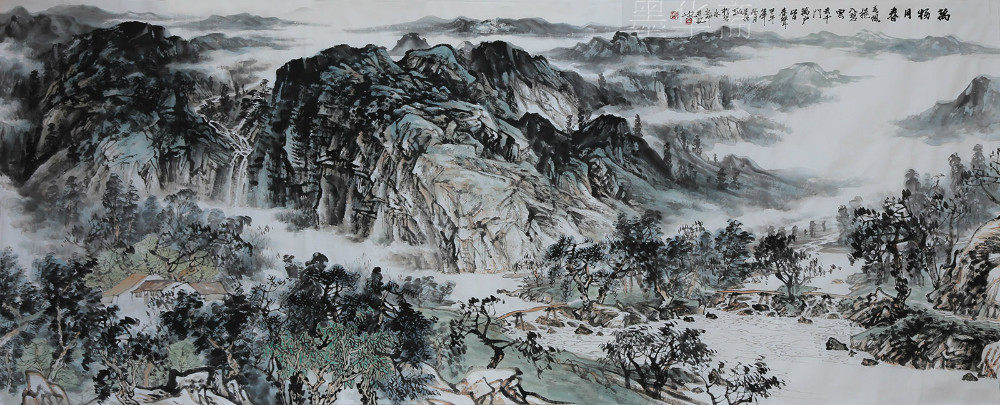Traditional Chinese painting original painting Pure hand ...