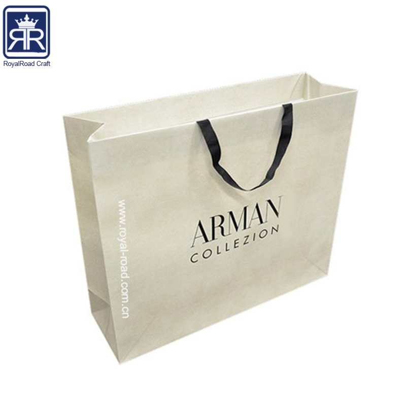 Stylish C2s Paper branded Personalized shopping bags with logo