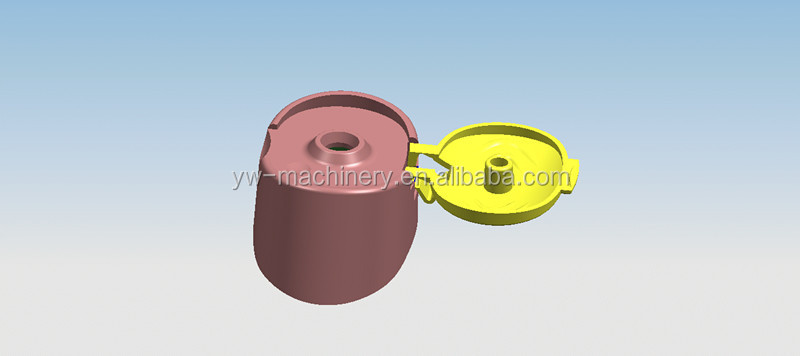 Cap cetakan injeksi plastik untuk minyak goreng grosir, membeli, produsen