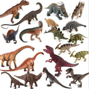 Dinosaur Action Figure toys Educational solid RealisticJurassic toys (T-rex, Triceratops, Velociraptor...) different size
