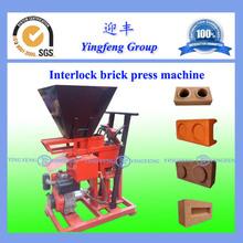 High quality interlocking brick making machine ECO 1-25 brick press