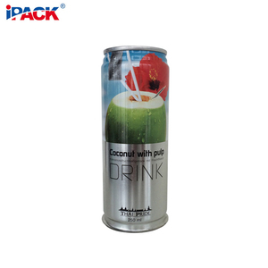 202x504 Empty Food Drink Cans For Beverage Packaging