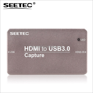 SEETEC Turns a camcorder into a webcam HDMI to USB 3.0 Video Capture Dongle for Skype HTU3.0