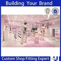 First Class Functional Store Design Exclusive For Underwear
