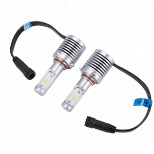 Super Bright Original Seoul-Y19 Lamp Beads Led Headlight Assembly